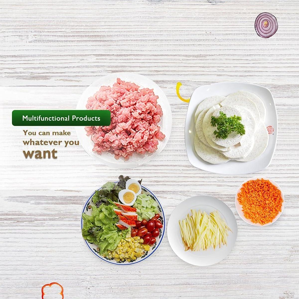 Homedox Salad Maker Professional SaladShooter Electric Slicer Shredder