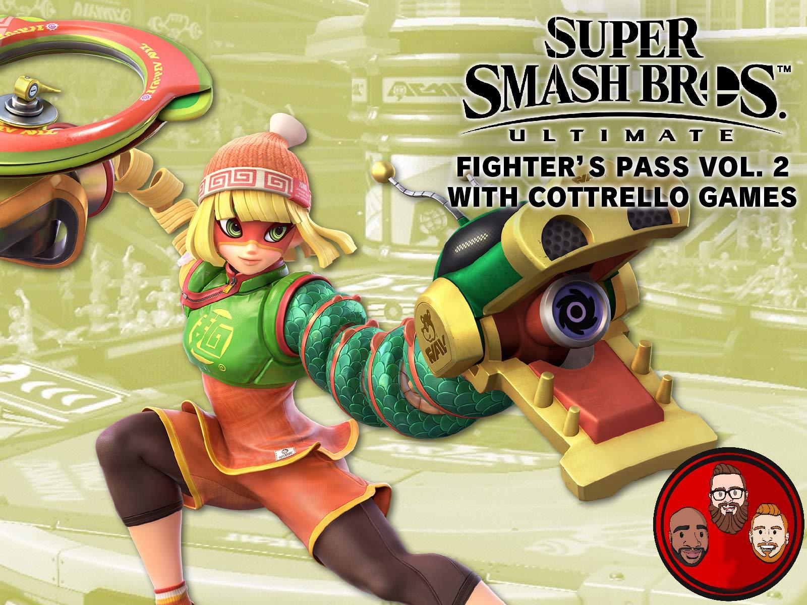 Super Smash Bros Ultimate Fighter's Pass Vol. 2 with Cottrello Games - Season 1
