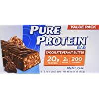 6-Pack Pure Protein Chocolate Peanut Butter (50 gram)
