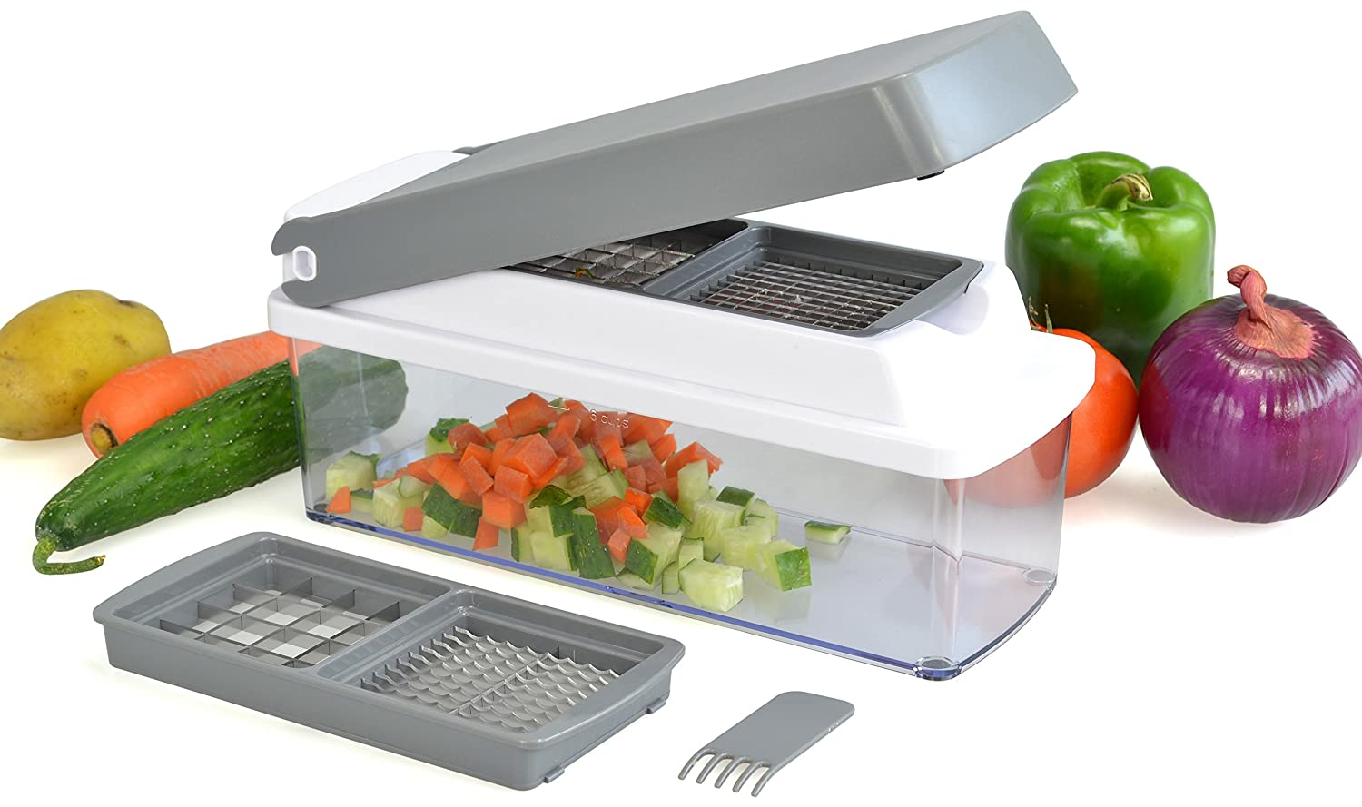Surpahs Multi Vegetable Chopper, Cutter, Slicer, Dicer