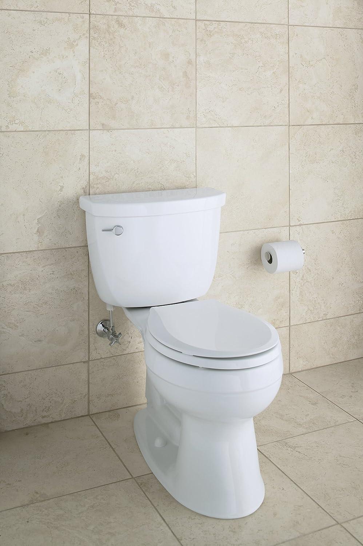 Kohler K 4639 0 Cachet Quiet Close With Grip Tight Bumpers Round Front Toilet Se Ebay