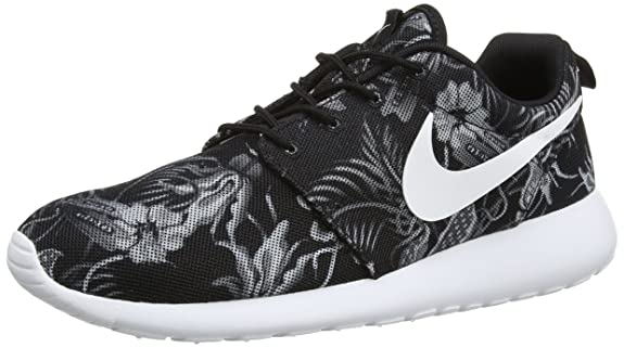 Nike Roshe Run Print, Chaussures de running pour homme, Gris (Cool Grey/