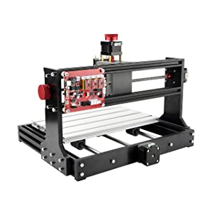 Mostics CNC 3018 Pro without laser module CNC Laser engraver CNC carving machine PCB PVC Wood router Milling machine CNC Laser engraving machine XYZ Area 300x180x45(CNC 3018 Pro, without laser module) (Tamaño: without laser module)