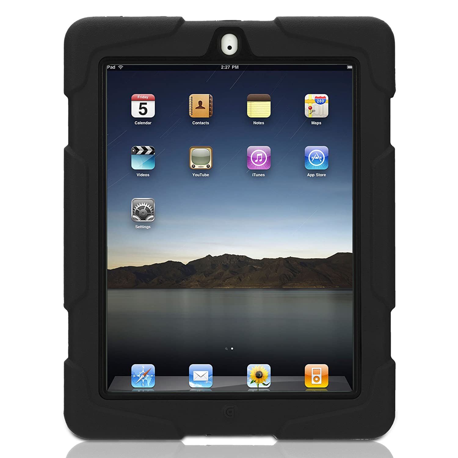 Griffin GB02480 Survivor Extreme-duty Military case for the new iPad (3rd Generation) and iPad 2, Black