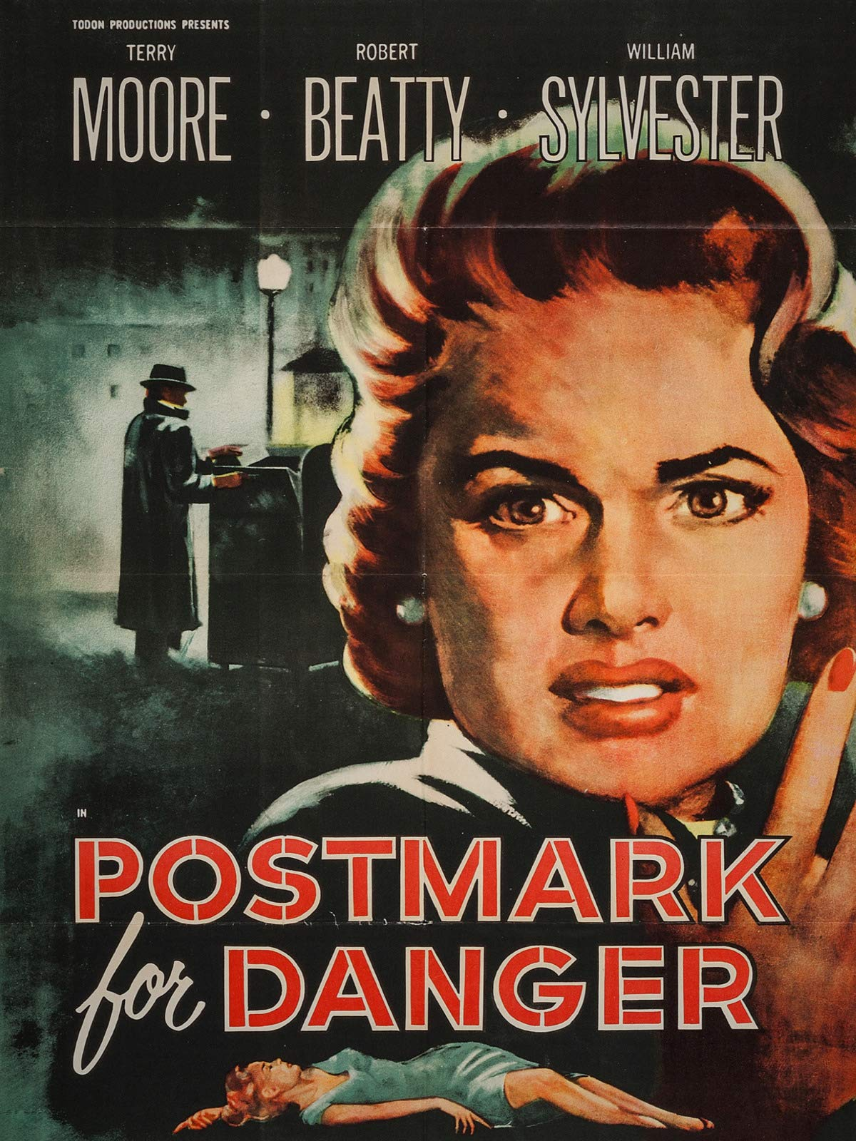 Postmark for Danger on Amazon Prime Video UK
