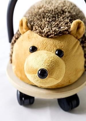 Prince Lionheart Wheely Bug Plush Toy, Hedgehog, Small (Color: Hedgehog, Tamaño: Small)
