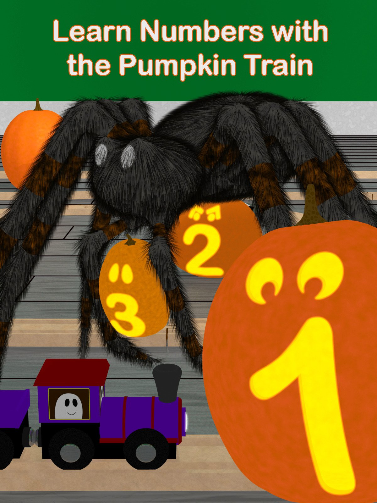Learn Numbers with the Pumpkin Train