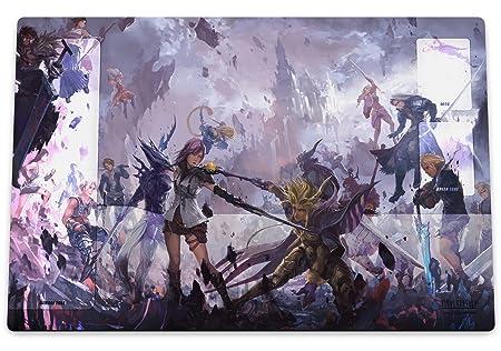 Playmat Premium Final Fantasy Dissidia Battle Art tapis de jeux haut de gamme ou tapis de souris géant FF