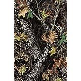 Springs Creative 44-Inch Wide Cotton Cut Fabric, 2-Yard, Mossy Oak Camouflage Brown (F?ur Pa?k) (Tamaño: F?ur Pa?k)