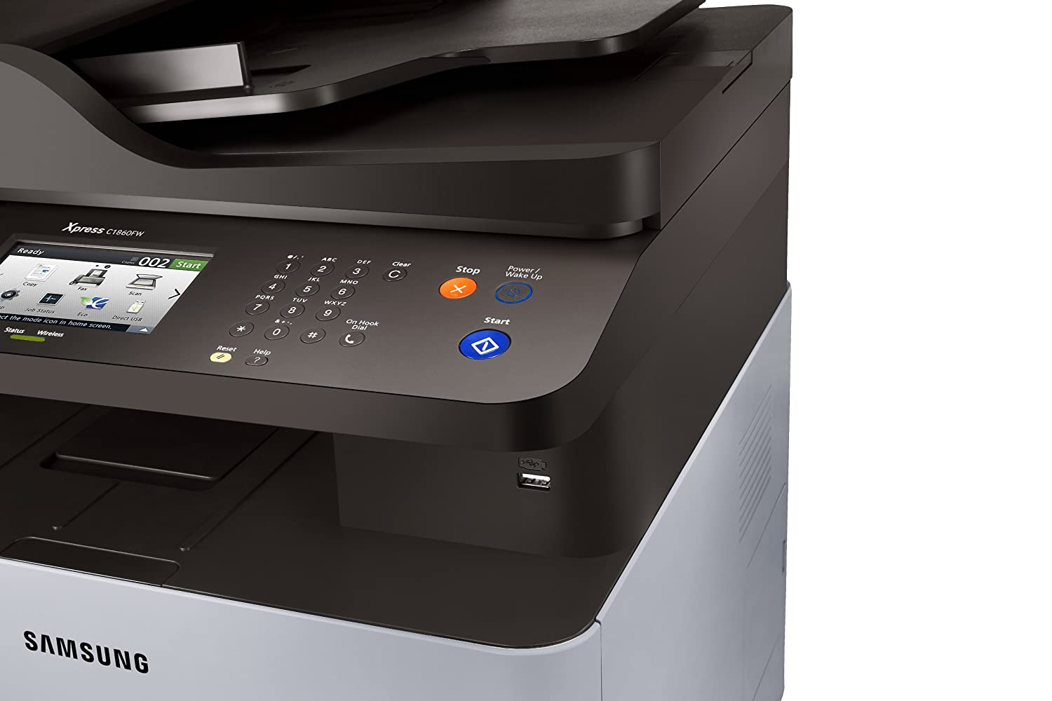 Xpress color printing - Amazon In Buy Samsung Sl C1860fw Xaa Wireless Color Printer With Scanner Copier And Fax Online At Low Prices In India Samsung Reviews Ratings