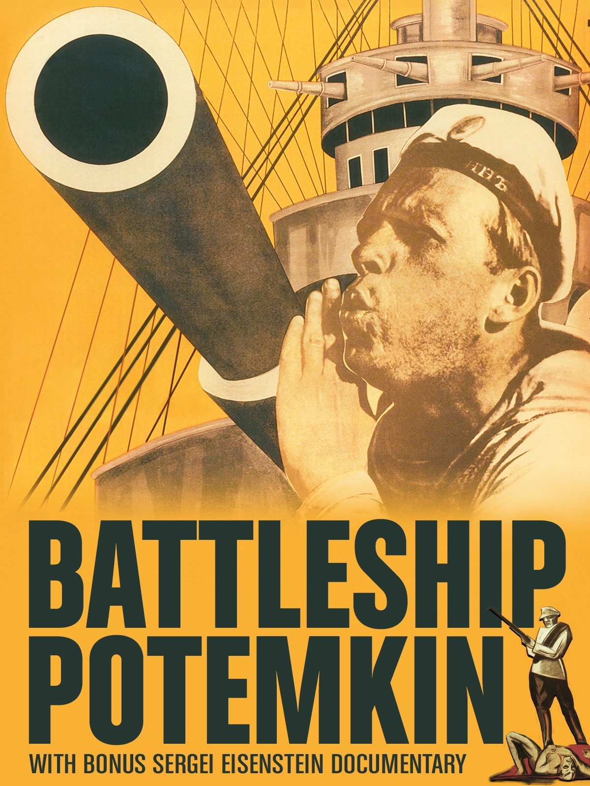 Battleship Potemkin with Bonus Sergei Eisenstein Documentary