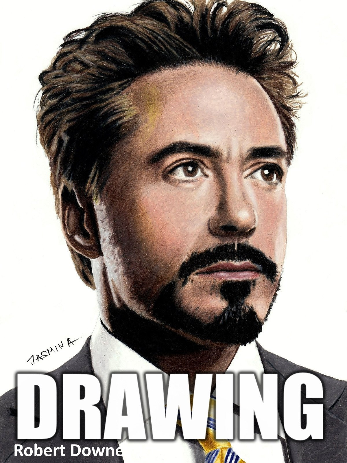 Clip: Drawing Robert Downey Jr.