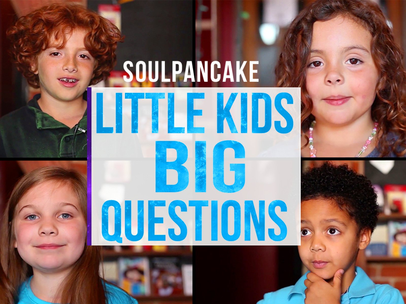 Little Kids. Big Questions. on Amazon Prime Instant Video UK