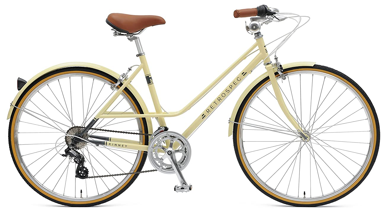 Retrospec Bicycles Kinney 14-Speed Vintage Hybrid Mixte Bicycle 0