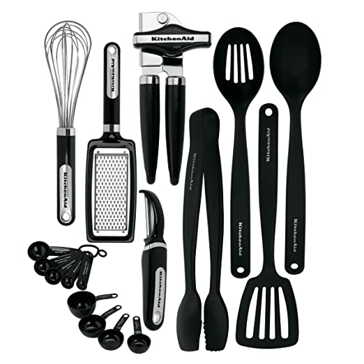 KitchenAid Classic 17-piece Tools and Gadget Set (Black)