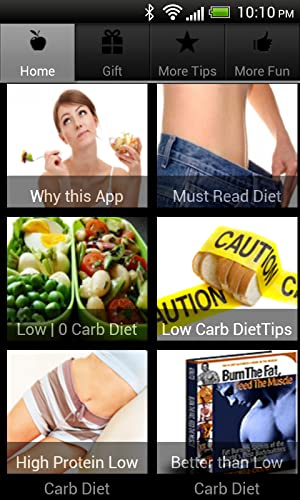 No Carb Diet and Low Carb Diet Plan - Amazon Mobile Analytics and App ...