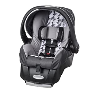 Evenflo Embrace-LX Infant Car Seat and Stroller Combo, Raleigh