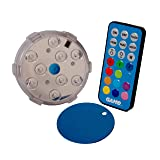 GAME 4306 Waterproof Magnetic LED Color-Changing Pool Wall Light with Remote Control 100% Waterproof & Submersible, 3