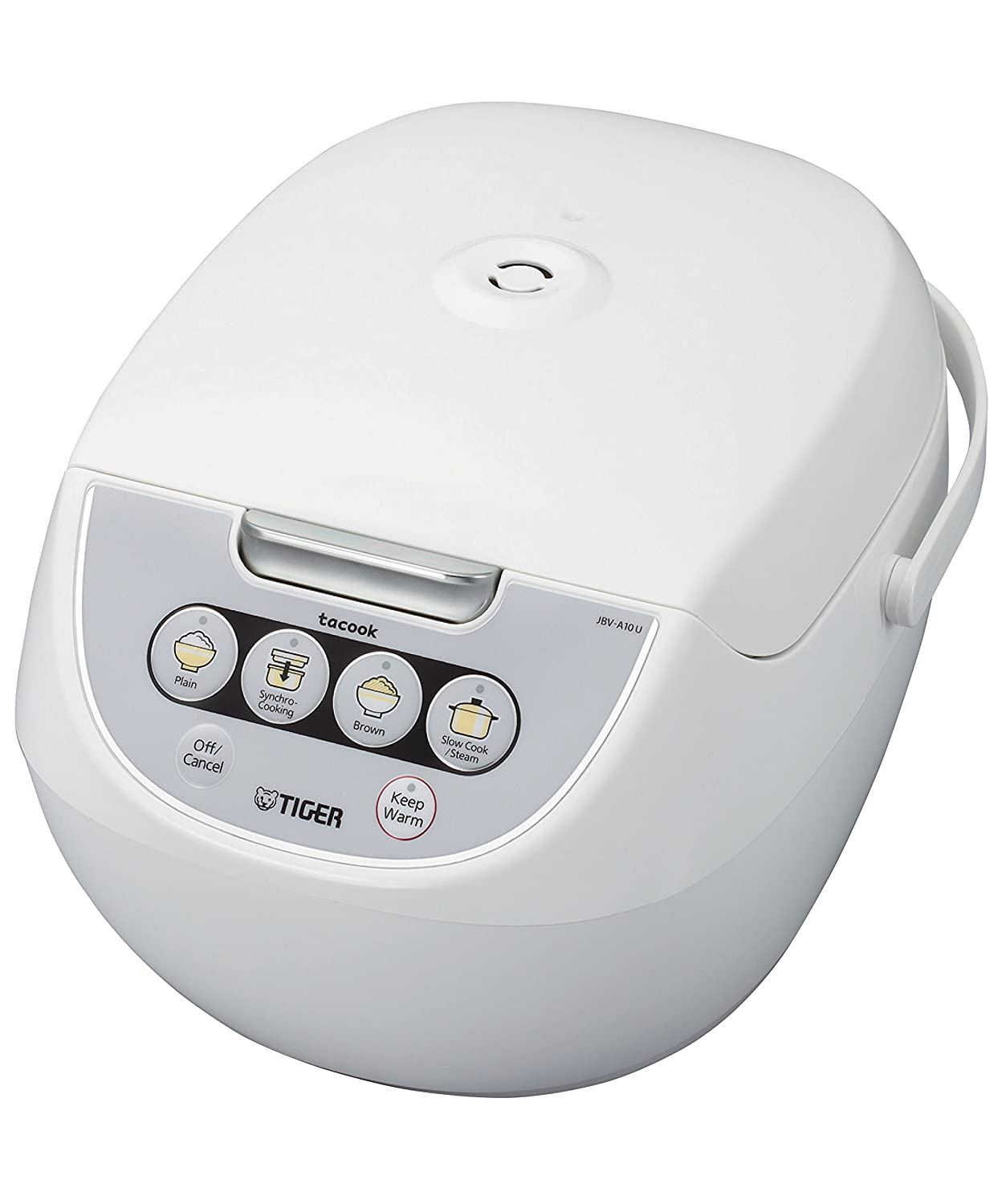 Tiger Corporation JBV-A10U-W Micom Rice Cooker
