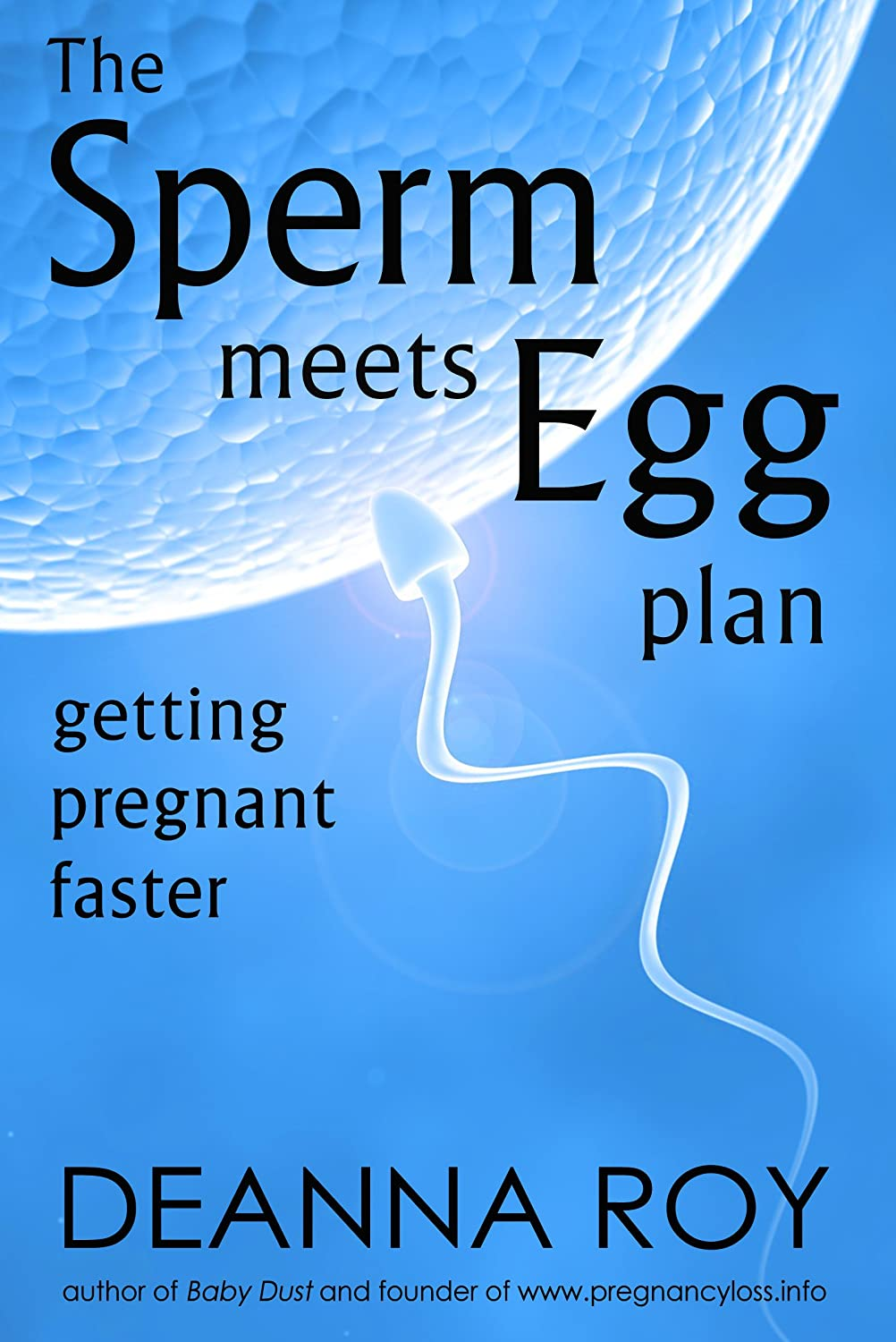 Image: The Sperm Meets Egg Plan: Getting Pregnant Faster, by Deanna Roy. Published: Casey Shay Press (October 9, 2012)