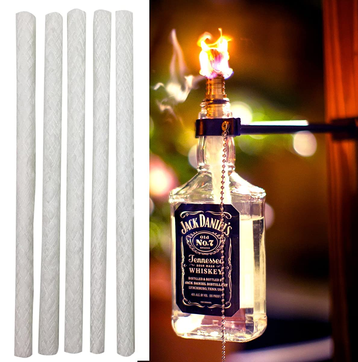 Fiberglass Tiki Torch Wicks
