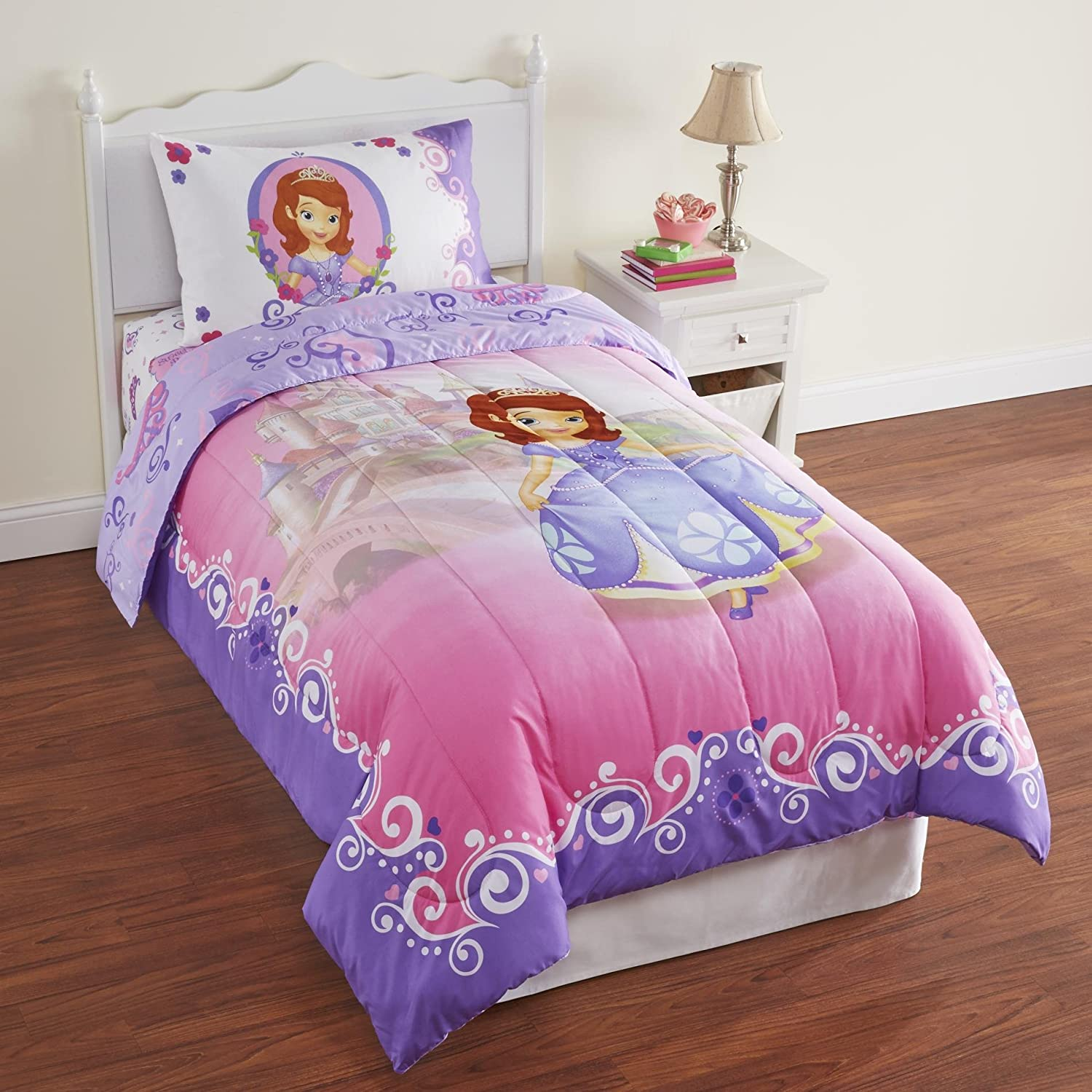 Sofia the First Twin Comforter and Sheet Set