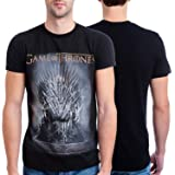 HBO'S Game of Thrones Men's Throne T-Shirt,Black,Medium (Color: Black, Tamaño: Medium)