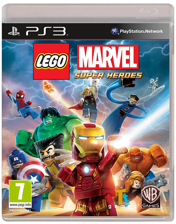 Kết quả hình ảnh cho LEGO Marvel Super Heroes cover ps3