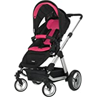 Obaby Zynergi Condor 4S Silver Chassis Pushchair with Seat Unit (Pink)
