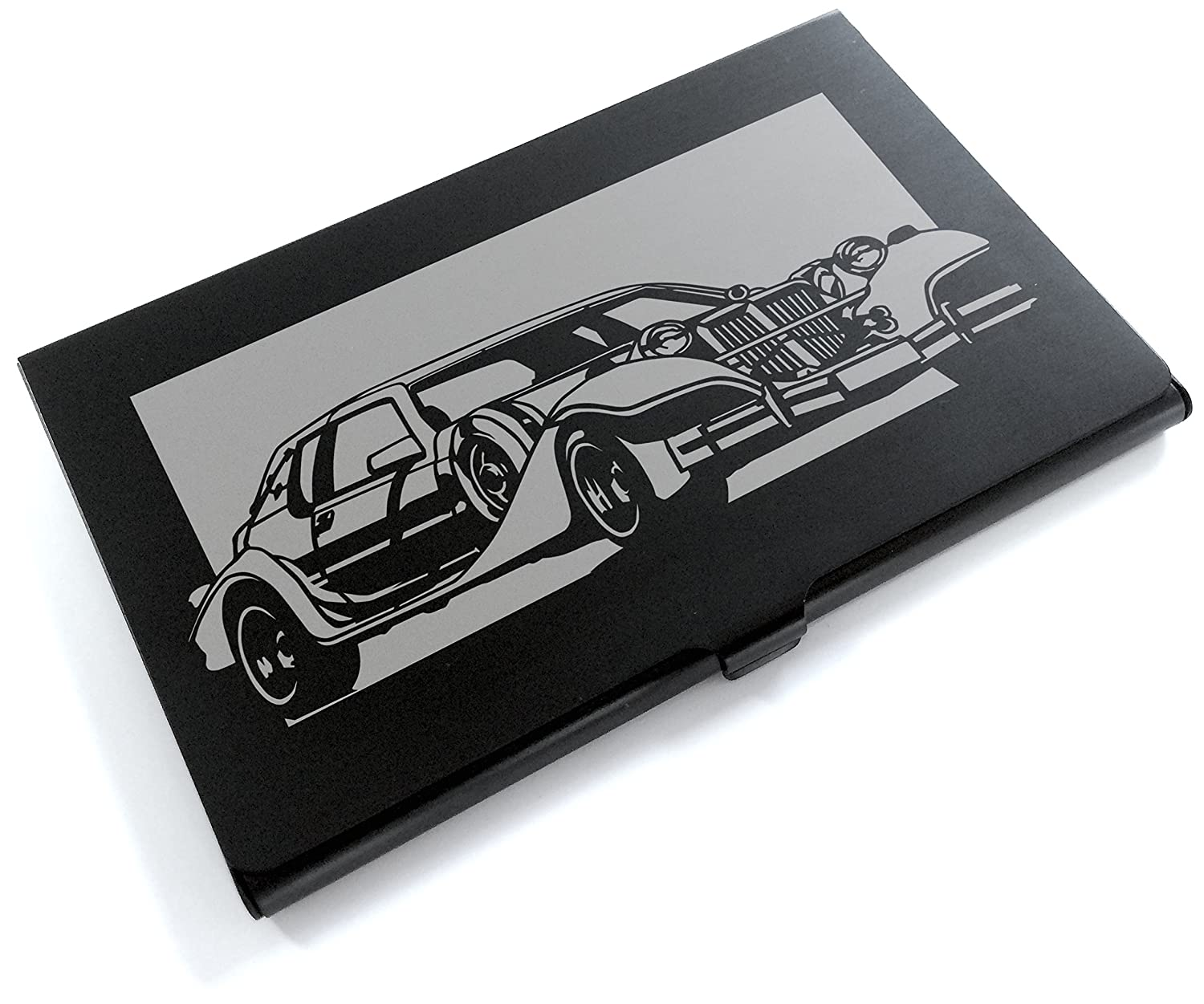 Black Alumite Card Case MITSUOKA Le-Seyde Aluminum brooklyn bridge landmark building 3d pop up greeting card laser cutting dies envelope hollow carved handmade kirigami gifts