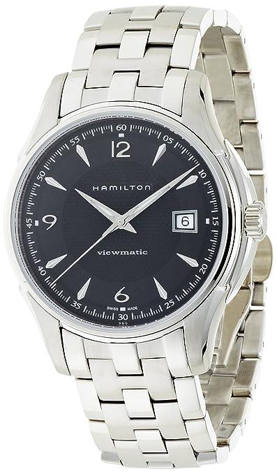海淘汉米尔顿手表:HAMILTON 汉米尔顿 经典爵士男款机械表 H32545555