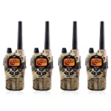 Midland GXT1050VP4 36-Mile JIS4 Waterproof 50-Channel FRS/GMRS Two-Way Camo Radio (4 Pack) (Tamaño: 4 Pack)
