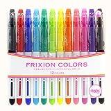 Pilot Frixion Colors 12C SFC-120M12C (japan import)