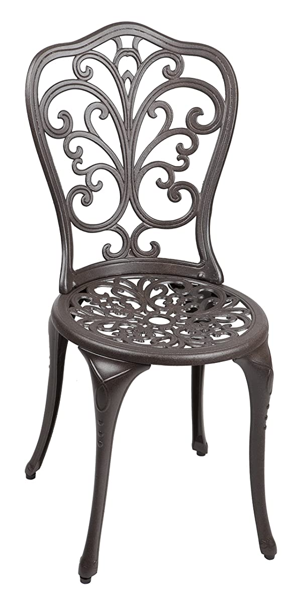 Patio Sense Faustina Antique Bronze 3 Piece Bistro Set