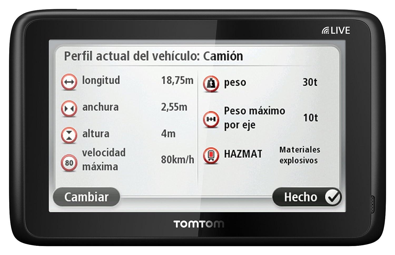 Navigation GPS TOMTOM TRUCK PRO5150 NOIR EUROPE 45 PAYS CARTE A VIE
