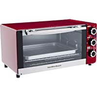 Hamilton Beach 6-Slice Convection Toaster/Broiler Oven (Candy Apple Red)