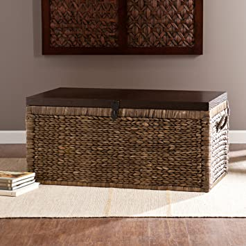 """Coffee table Chest 17.5"""" H x 37.75"""" W x 21.5"""" D Target ikea foosball restaurant poker pingpong game"""