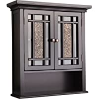 Elegant Home Fashions Whitney Wall Cabinet with 2 Doors and 1 Shelf