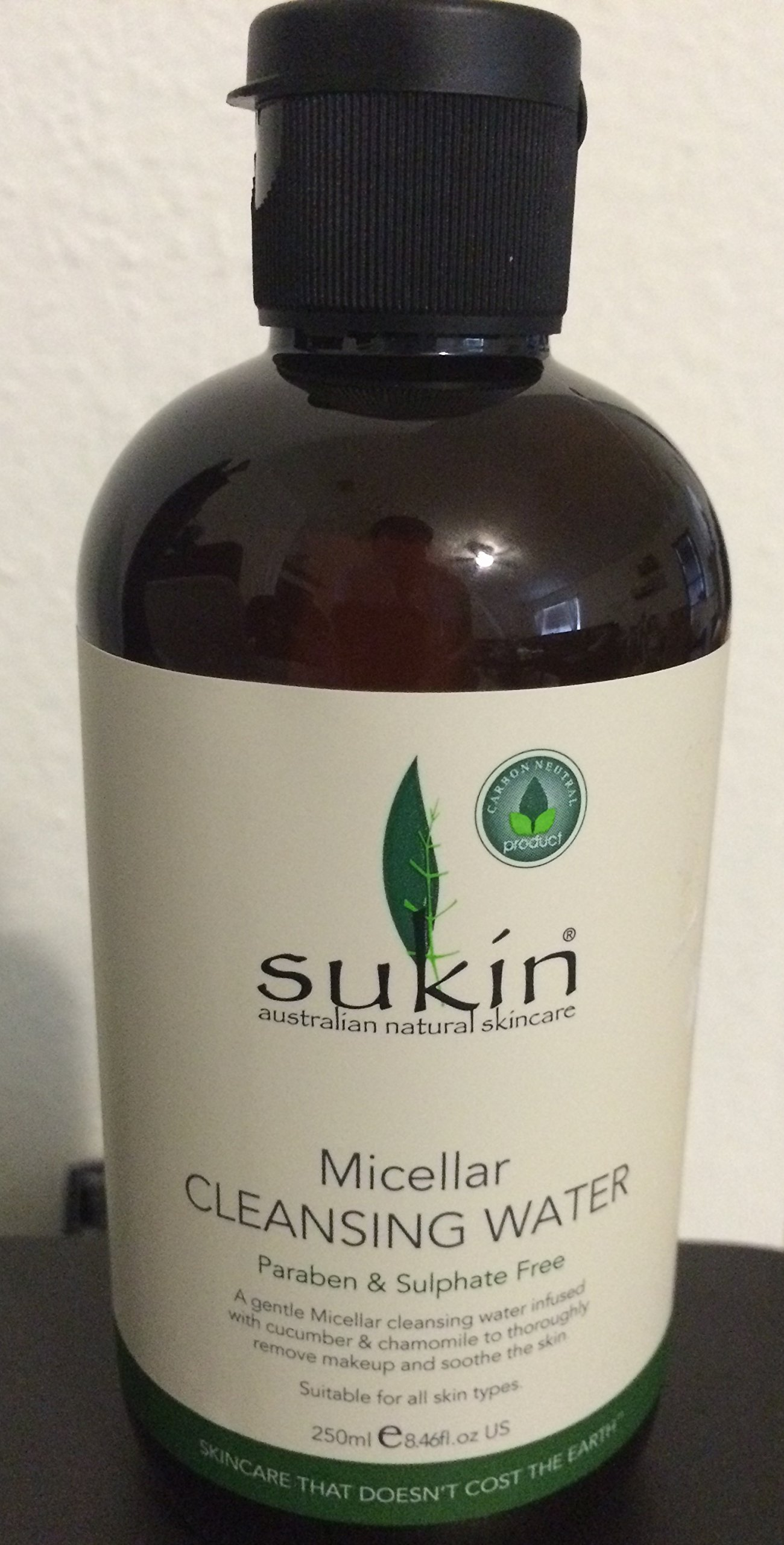 Sukin Micellar Cleansing Water w/chamomile & Cucumber