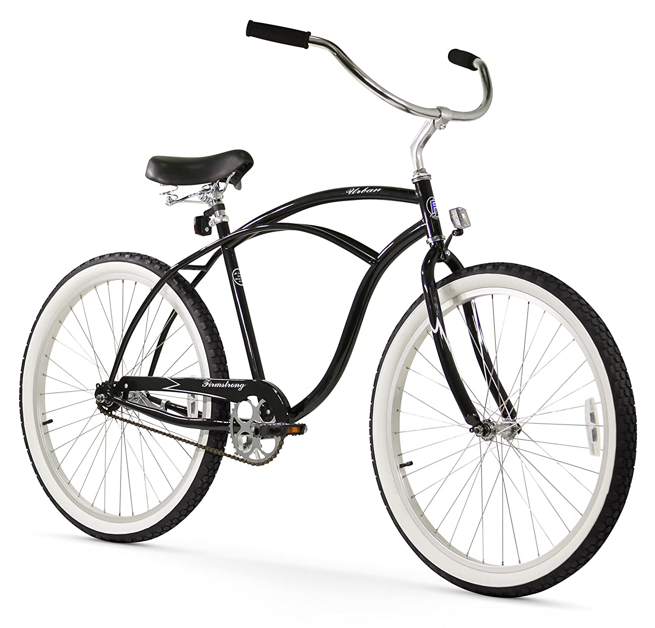 Firmstrong Urban Man Beach Cruiser Bicycle 0