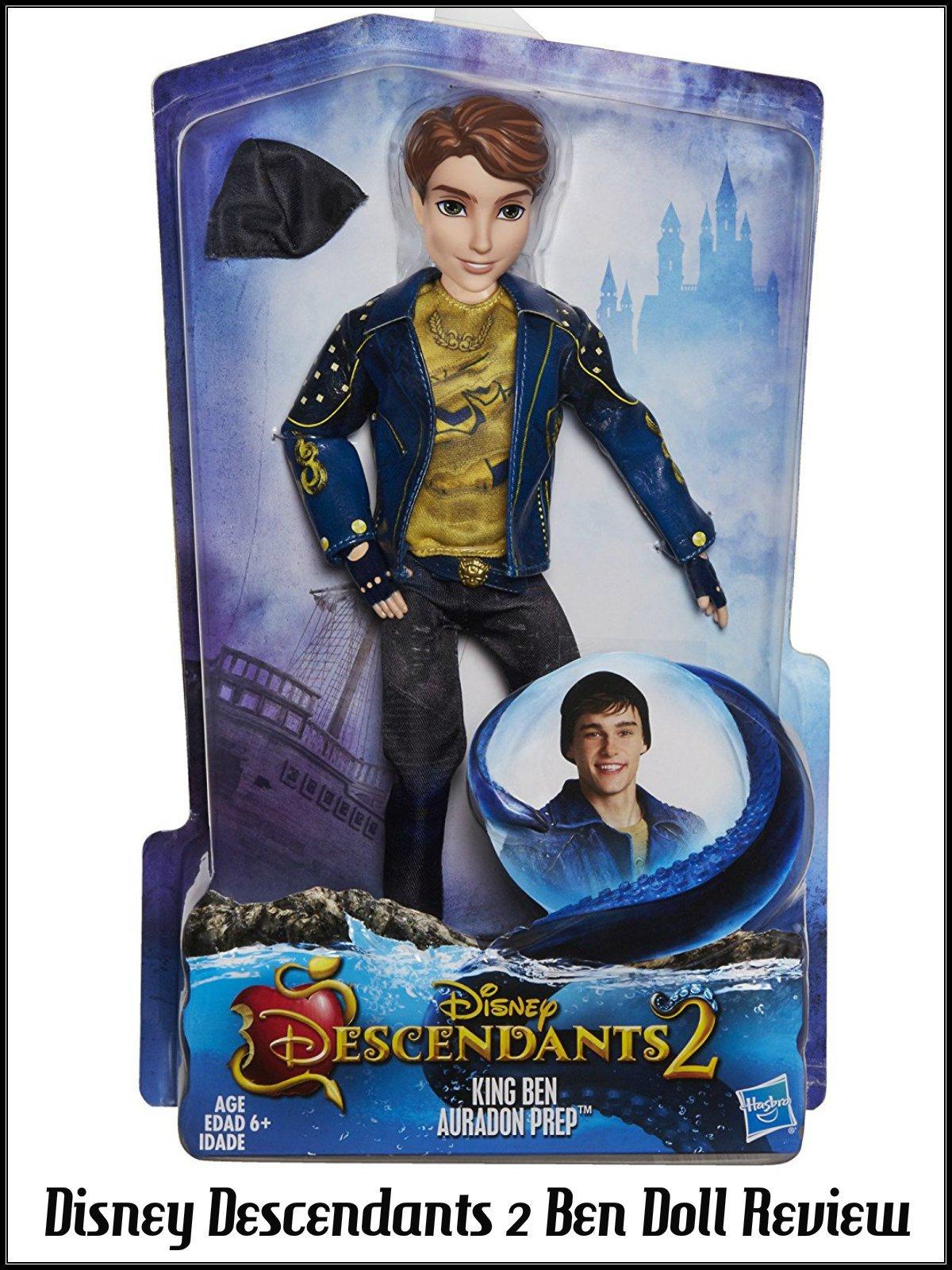 Review: Disney Descendants 2 Ben Doll Review