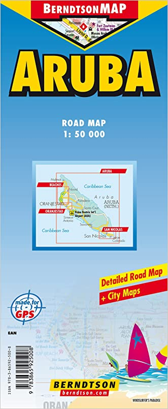 Country Map of Aruba