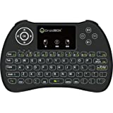 DroidBOX i9 Wireless 2.4Ghz Backlight i8 Mini-Keyboard Rechargeable with Mini Gestures Touchpad for Android TV BOX, T8, TX2, TX3, Raspberry Pi, Minix,