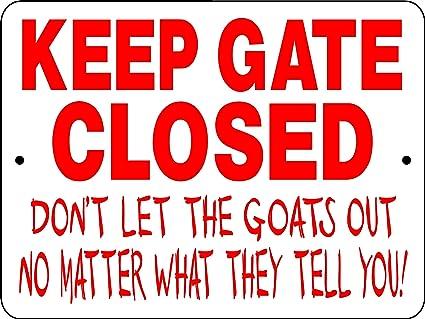 Y Not Goat GOAT SIGN 9 ampquotx12 ampquot