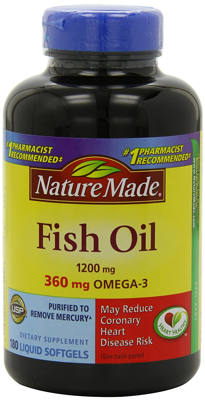 史低!Nature Made Omega-3鱼油1200m 180粒*3瓶.02 - 第1张  | 淘她喜欢