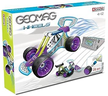 Geomag - 6831 - Jeu de Construction - Wheels - Buggy - 29 Pièces