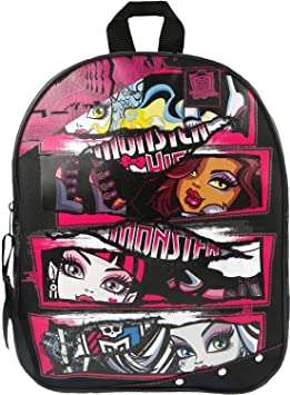 monster high sac dos 31cm fournitures de bureau z197. Black Bedroom Furniture Sets. Home Design Ideas