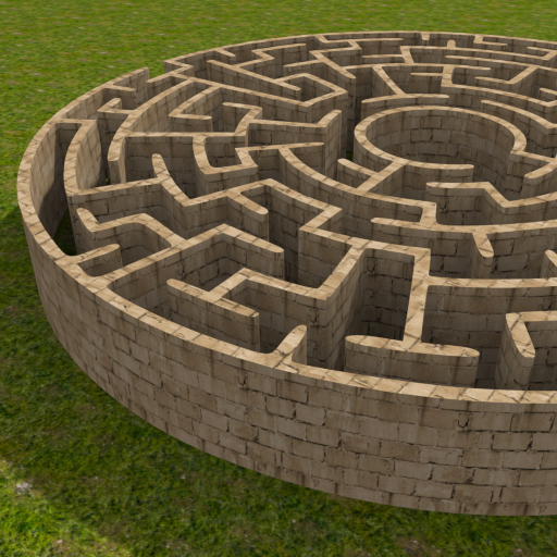 3D Maze (The Labyrinth) (Free 3d Games compare prices)