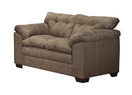 ACME 50371 Lucille Loveseat with Sage Microfiber