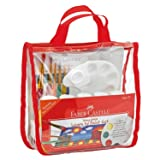 Faber-Castell Young Artist Learn to Paint Set - Washable Paint Set for Kids (Color: Learn to Paint Set)